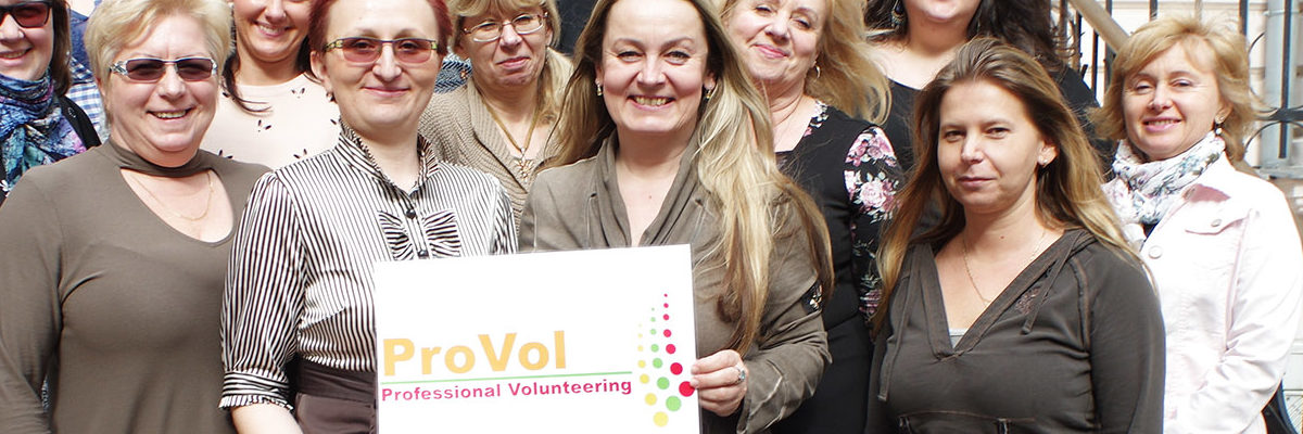 "ProVol - ""Professional Volunteering Crossborder"""